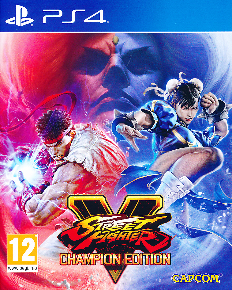 "Packshot for ""Street Fighter V Champion Ed. PS4"""