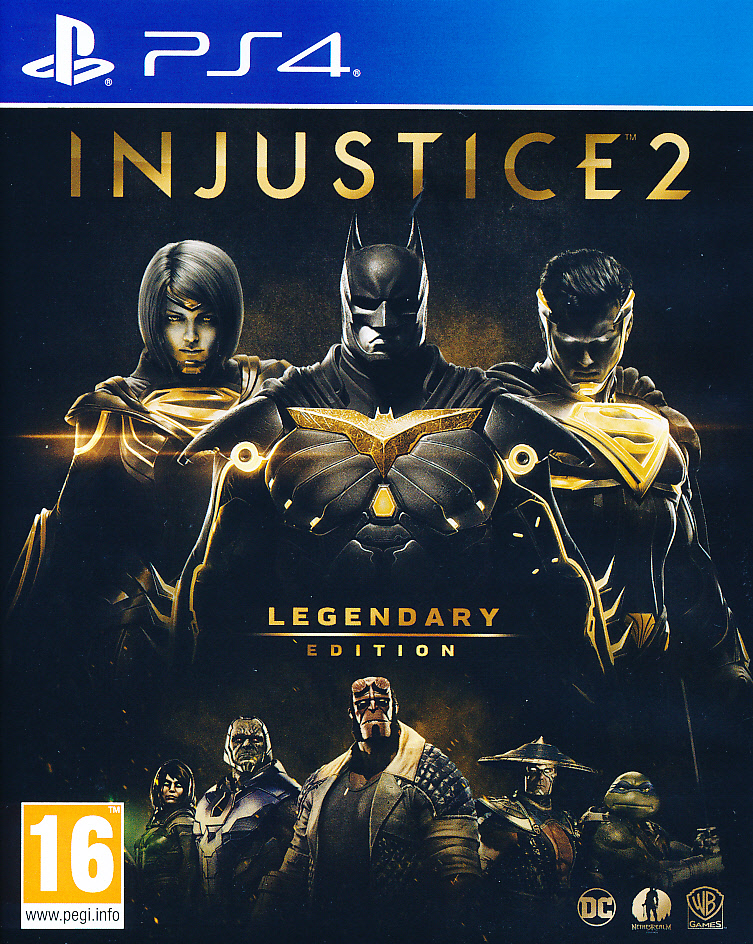 "Packshot for ""Injustice 2 Legendary Edition PS4"""