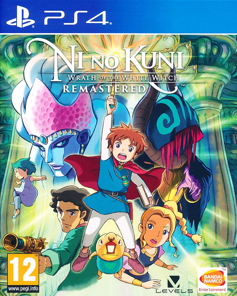 """Packshot for """"Ni No Kuni Wrath of Remstered PS4"""""""
