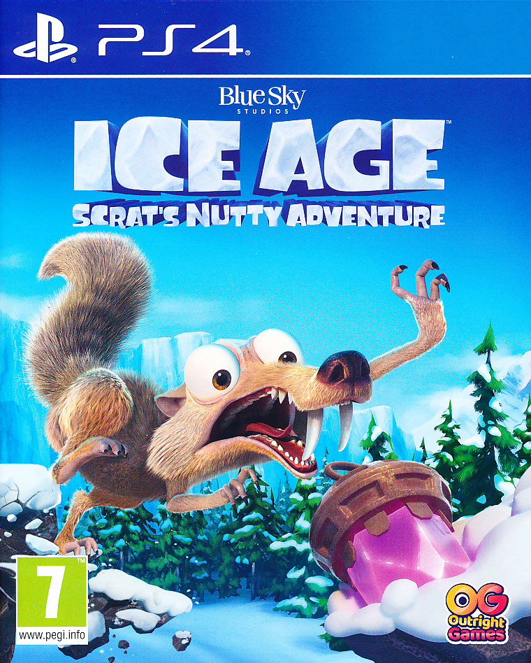 Ice Age Scrats Nutty Adv. PS4