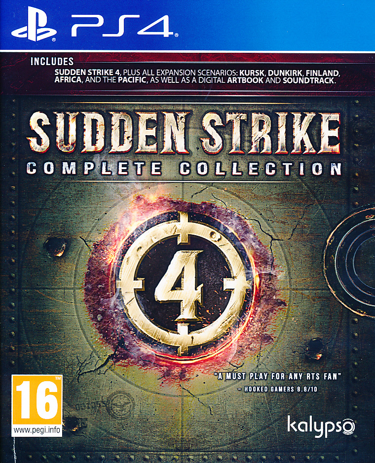 "Packshot for ""Sudden Strike 4 Complete Coll. PS4"""