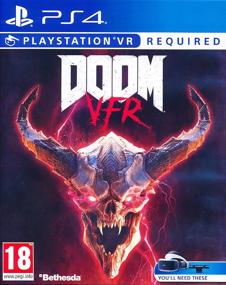 """Packshot for """"DOOM VFR PS4"""""""