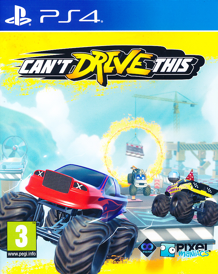 Cant Drive This PS4