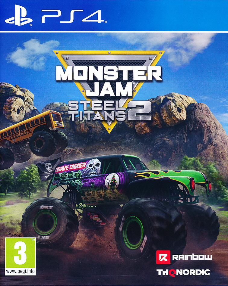 """Packshot for """"Monster Jam Steel Titans 2 PS4"""""""