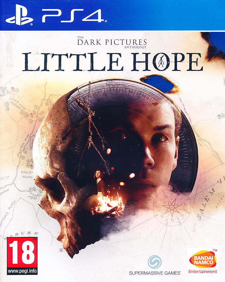 The Dark Pictures Antholgy LH PS4