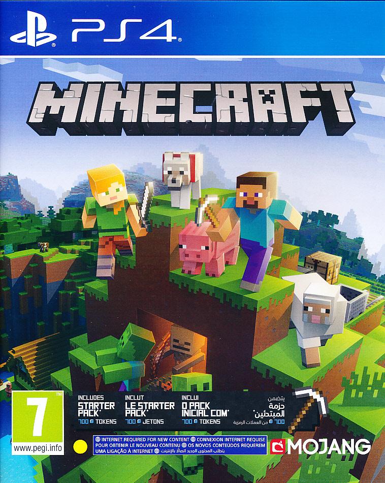 """Packshot for """"Minecraft Bedrock Ed. PS4"""""""