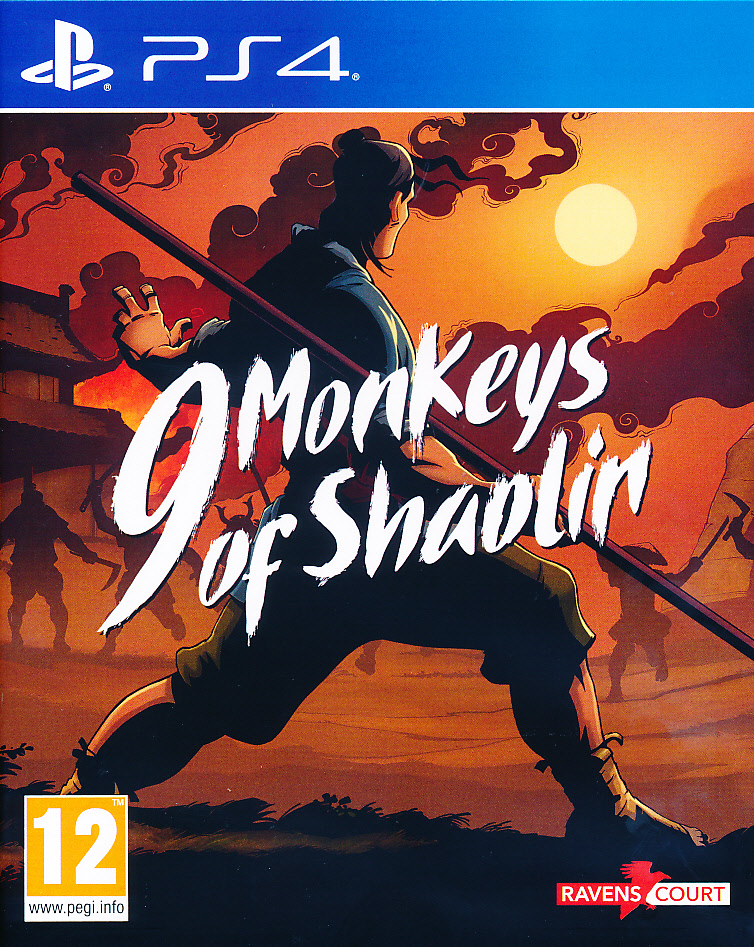 "Packshot for ""9 Monkeys of Shaolin PS4"""