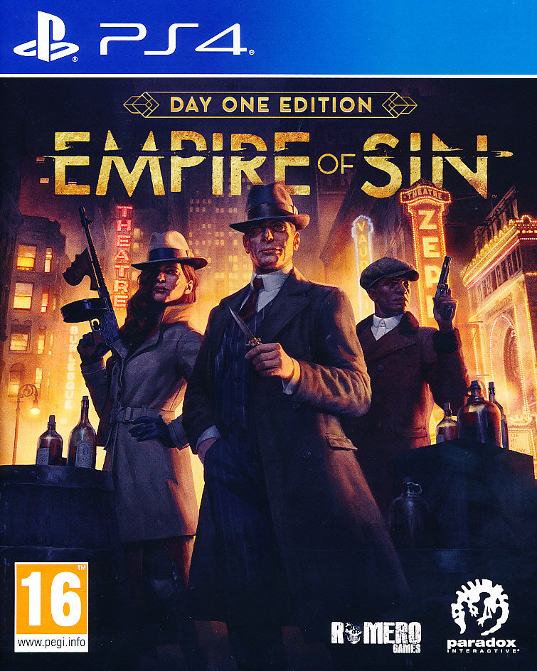 Empire of Sin Day One Ed. PS4