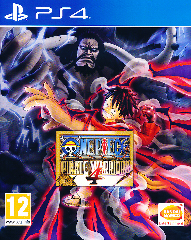"""Packshot for """"One Piece Pirate Warriors 4 PS4"""""""