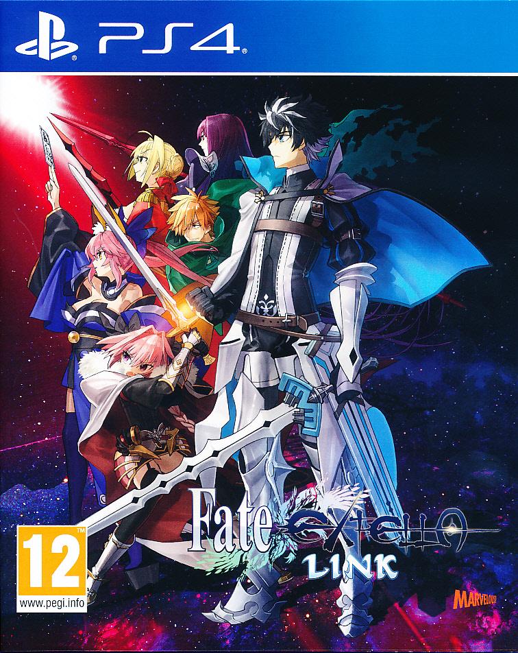 "Packshot for ""Fate Extella Link PS4"""