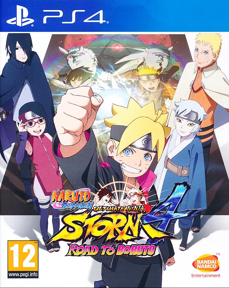 Naruto Shippuden UNS 4 Road to PS4