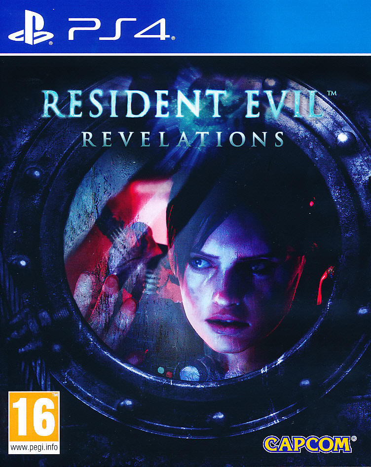 "Packshot for ""Resident Evil Revelations HD PS4"""