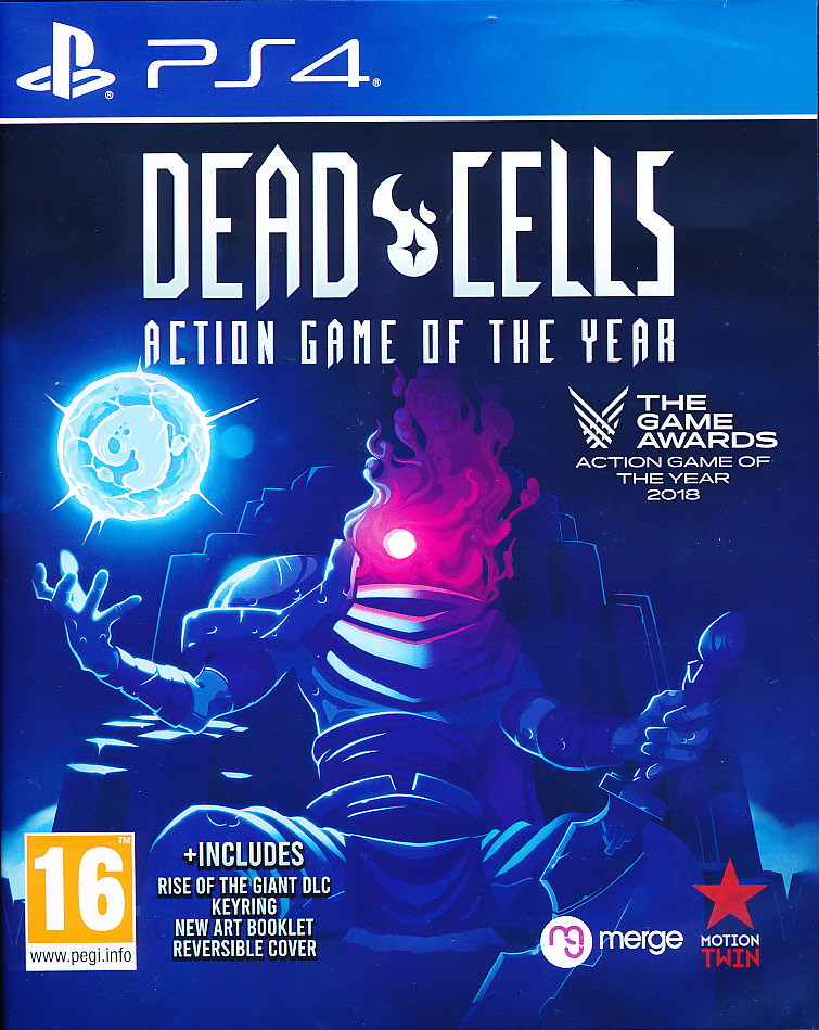 "Packshot for ""Dead Cells GOTY PS4"""