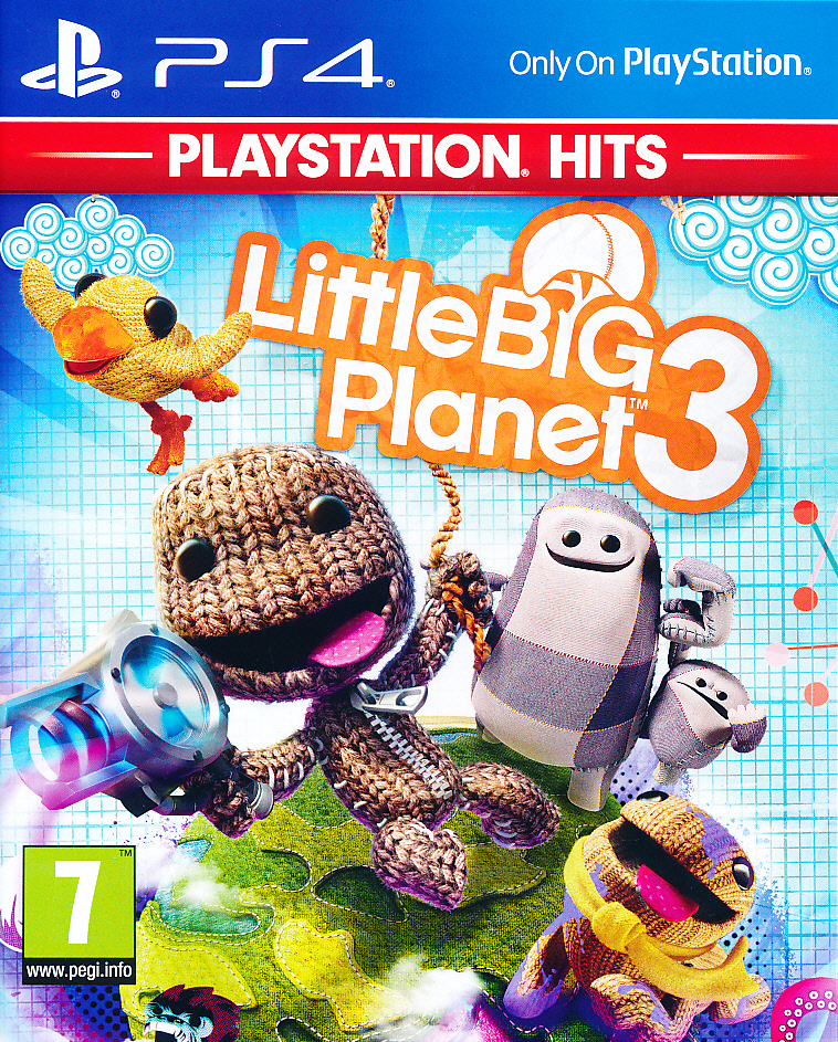 "Packshot for ""Little Big Planet 3 PS4"""
