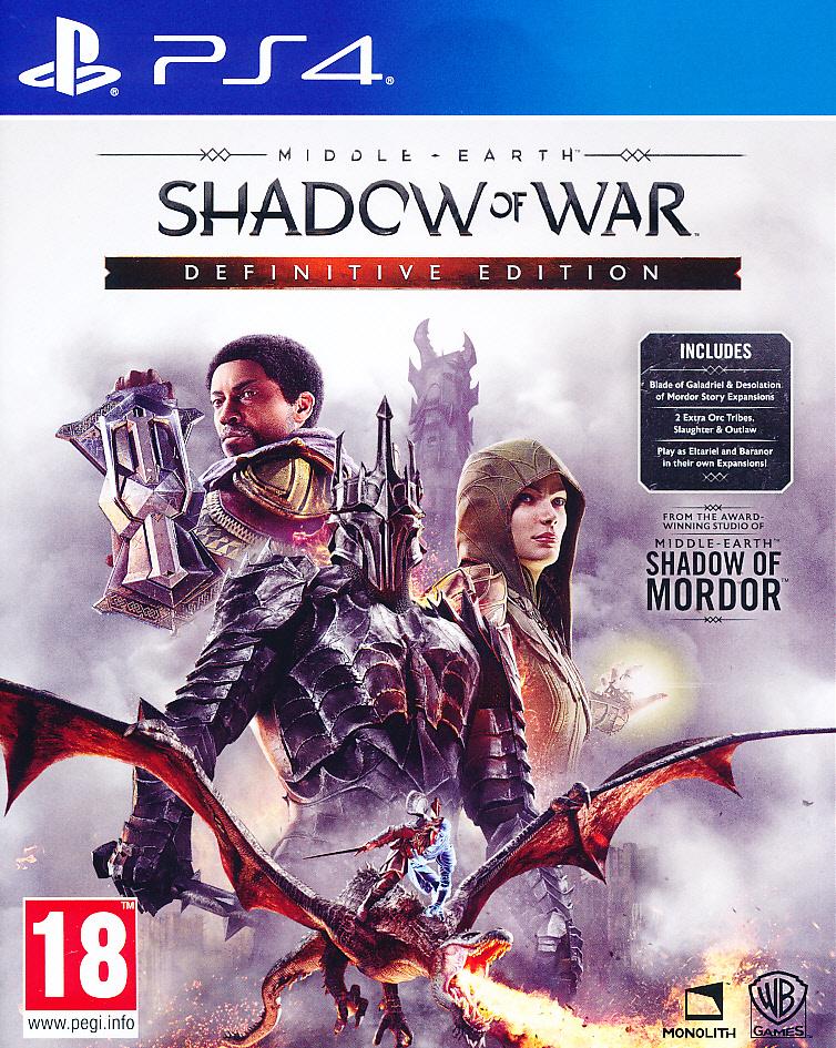 Middle Earth Shadow War Def.Ed. PS4