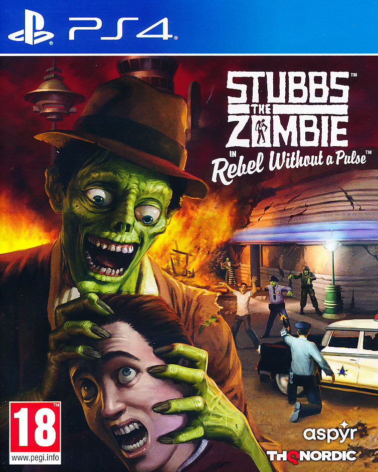 Stubbs the Zombie Rebel Without PS4