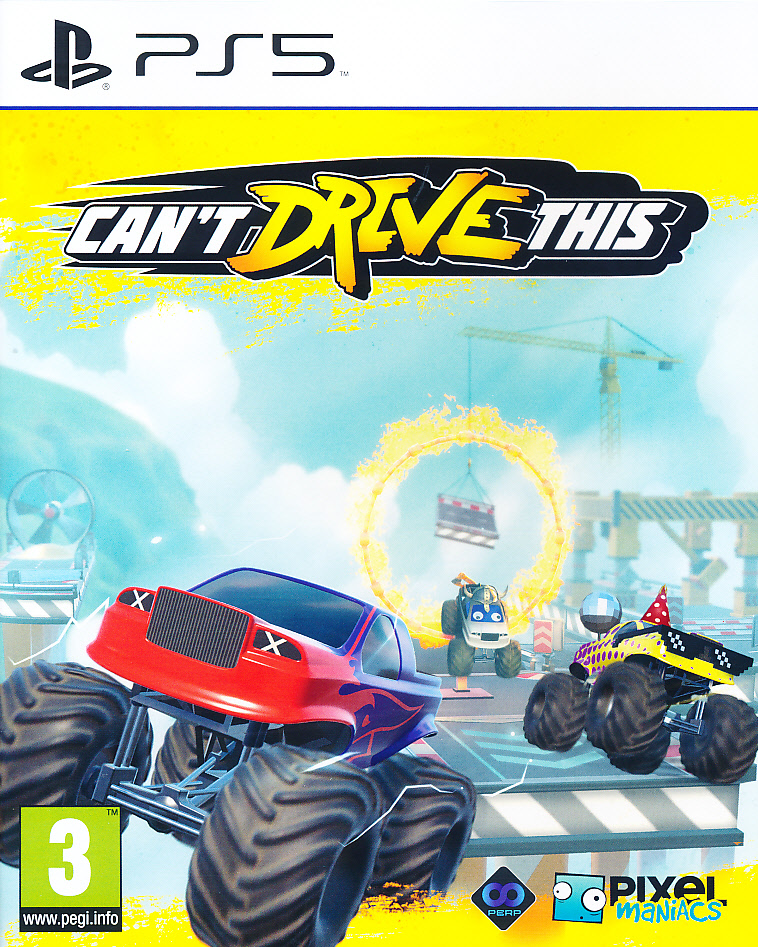 Cant Drive This PS5