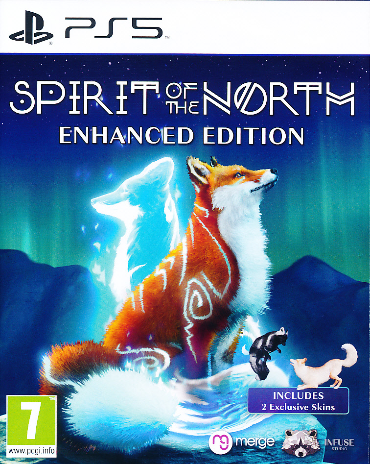 """Packshot for """"Spirit of the North PS5"""""""