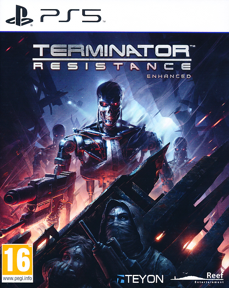 "Packshot for ""Terminator Resistance Enhanced PS5"""