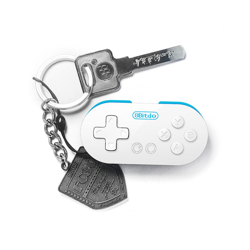 "Packshot for ""8bitdo Zero Mini Bluetooth Gamepad"""