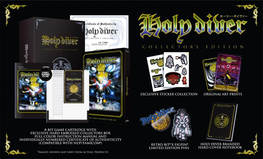 Retro-Bit Holy Diver Ltd Ed. NES