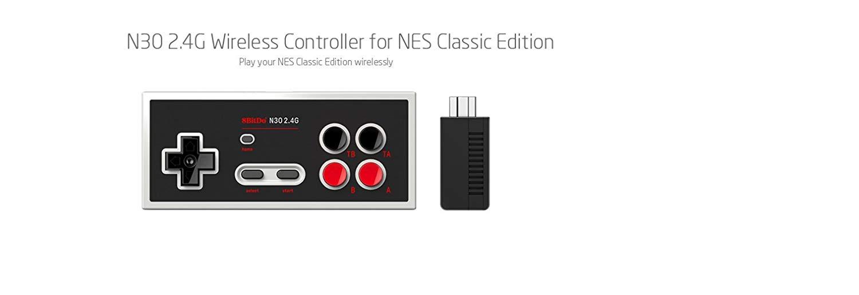 8Bitdo N30 2.4G NES Mini Gamepad