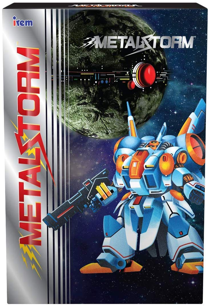 "Packshot for ""Retro-Bit Metal Storm standard NES"""