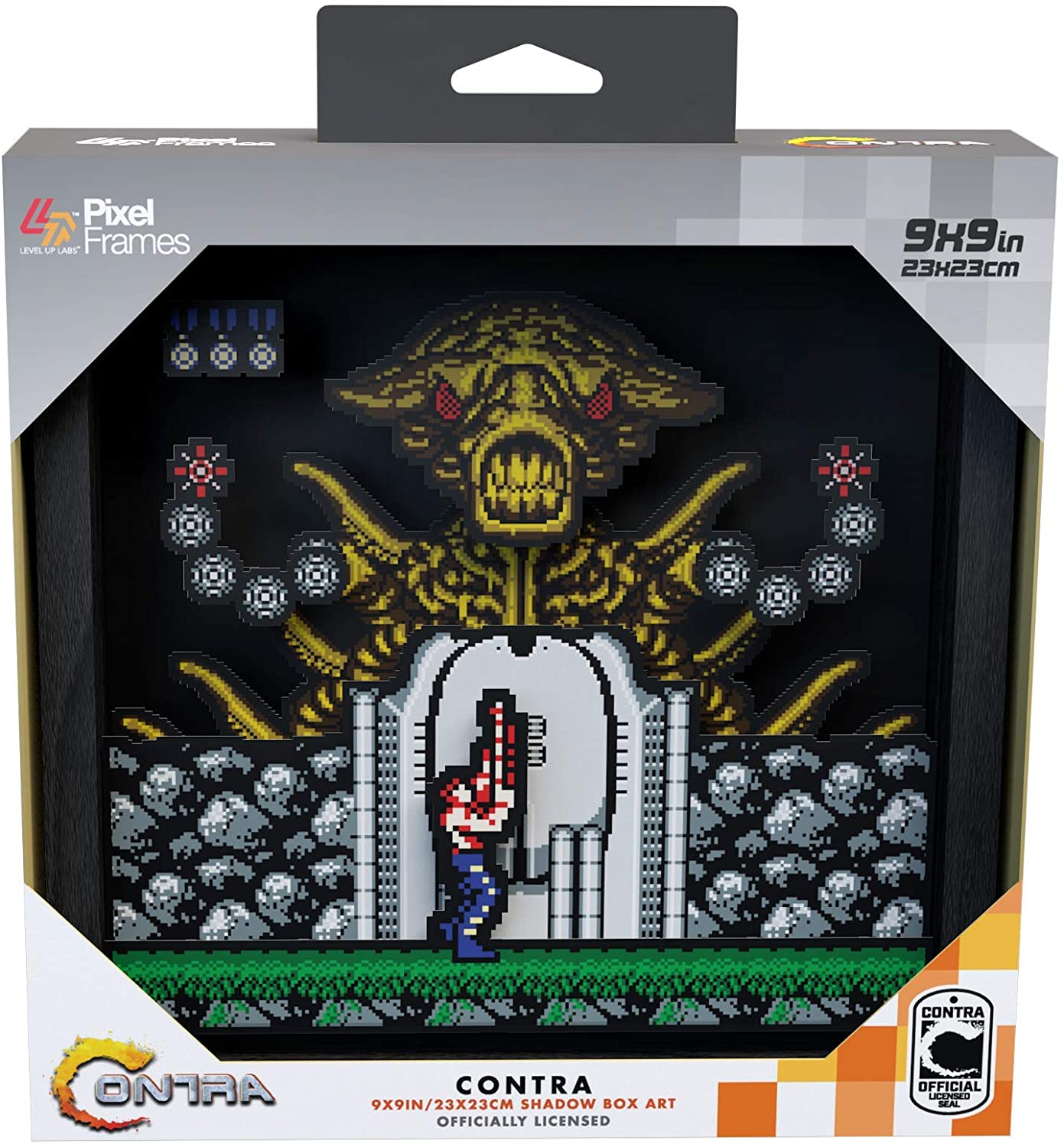 "Packshot for ""Pixel Frames Contra NES L"""