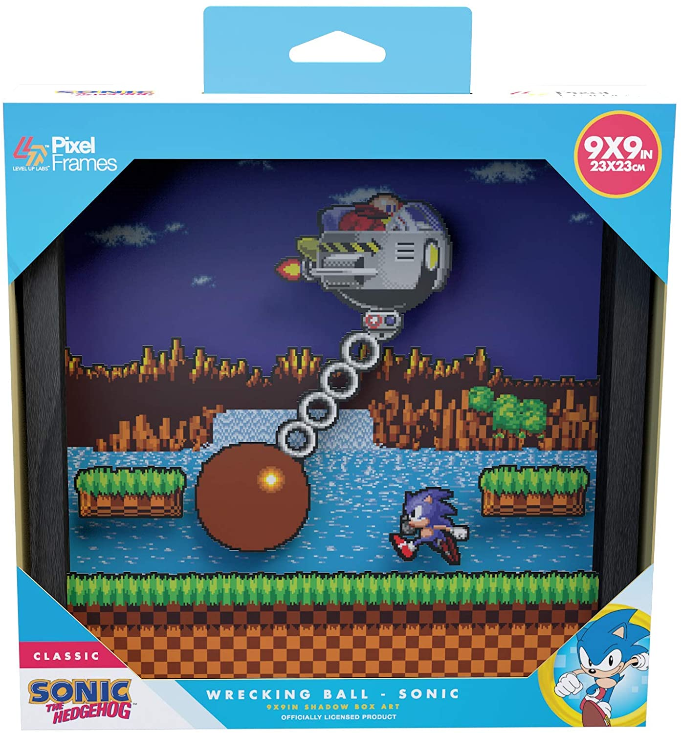 "Packshot for ""Pixel Frames Sonic Wrecking Ball L"""