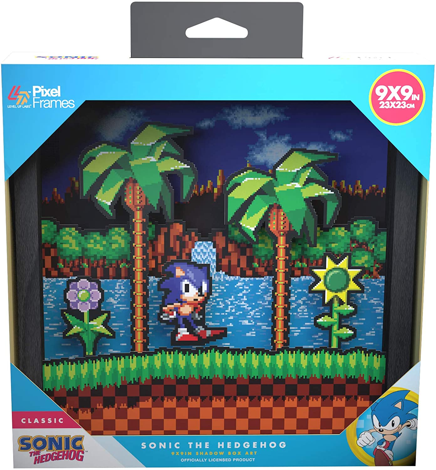 "Packshot for ""Pixel Frames Sonic Idle Pose L"""