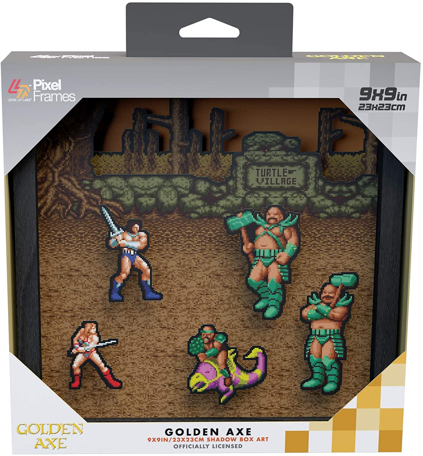 "Packshot for ""Pixel Frames Golden Axe L"""