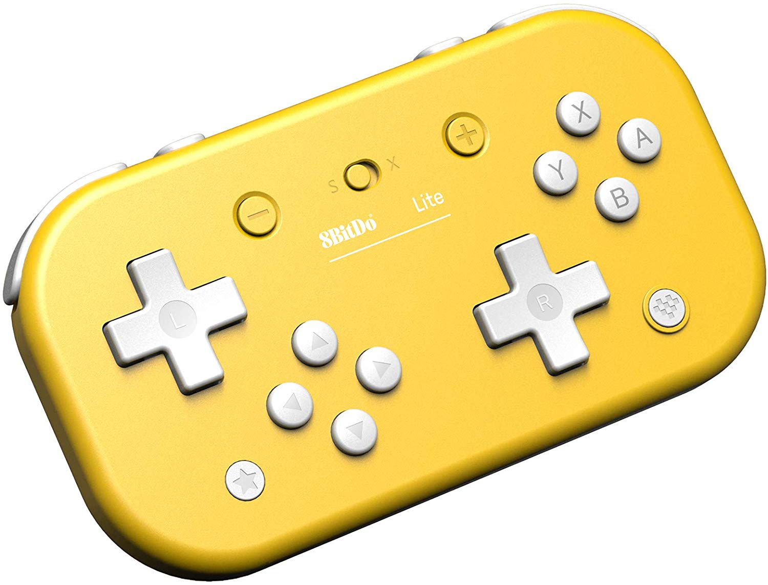 "Packshot for ""8BitDo Lite BT Gamepad Yellow"""