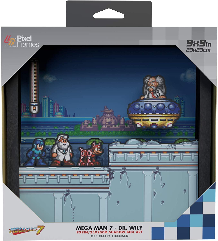 Pixel Frames Megaman 7 Dr Wily
