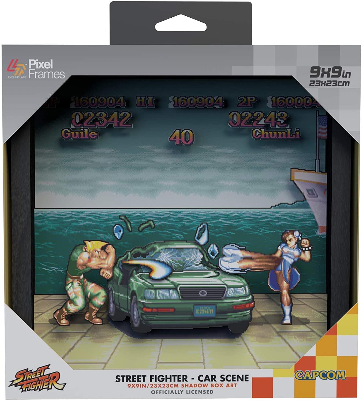 Pixel Frames Street Fighter Car