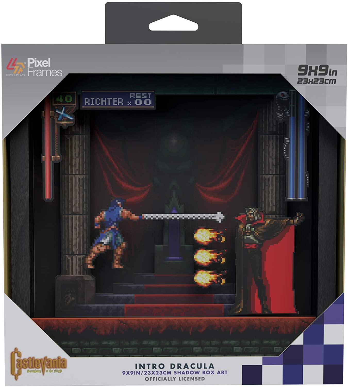 Pixel Frames Castlevania SOTN Dracu