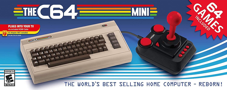 """Packshot for """"The C64 Mini"""""""