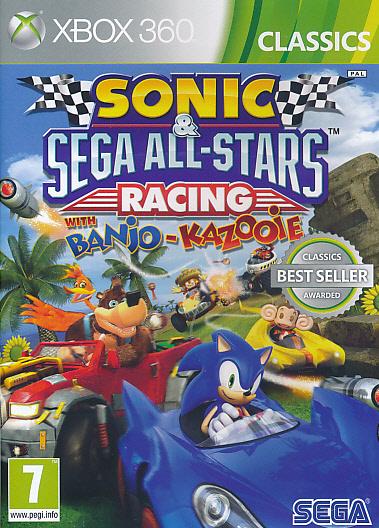 """Packshot for """"Sonic & Sega ASR CLASS X360"""""""