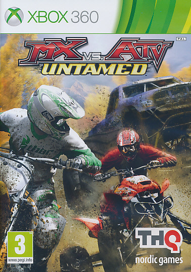 "Packshot for ""MX vs ATV Untamed X360"""