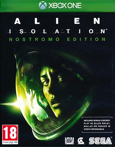"""Packshot for """"Alien Isolation Nostromo Ed. XBO"""""""