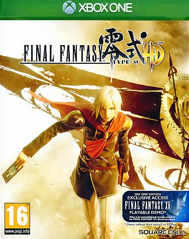 Final Fantasy Type-0+FF XV Demo XBO