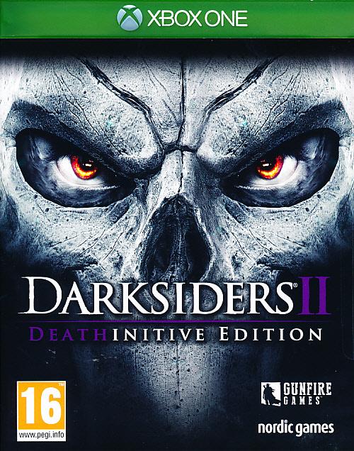 "Packshot for ""Darksiders 2 Deathinitive Ed. XBO"""
