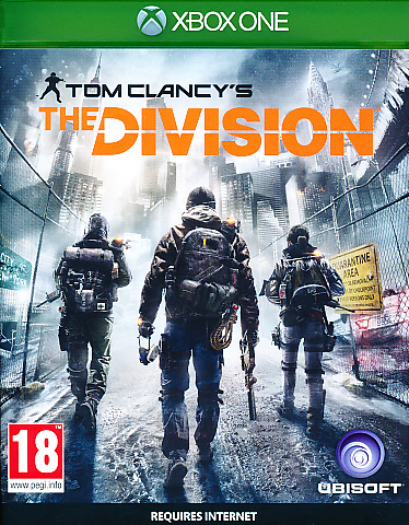 "Packshot for ""The Division XBO"""