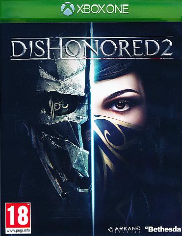 "Packshot for ""Dishonored 2 XBO"""