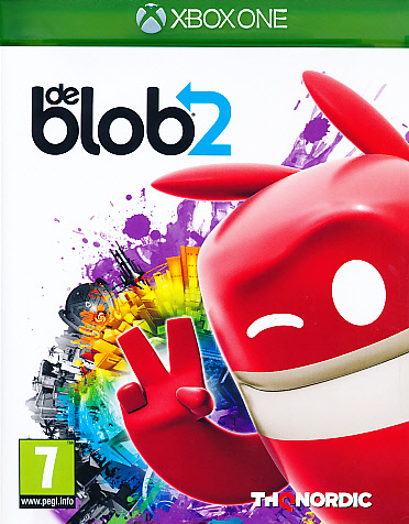 "Packshot for ""De Blob 2 XBO"""