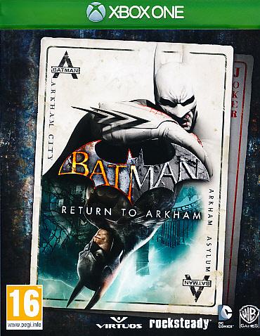 Batman Return to Arkham XBO