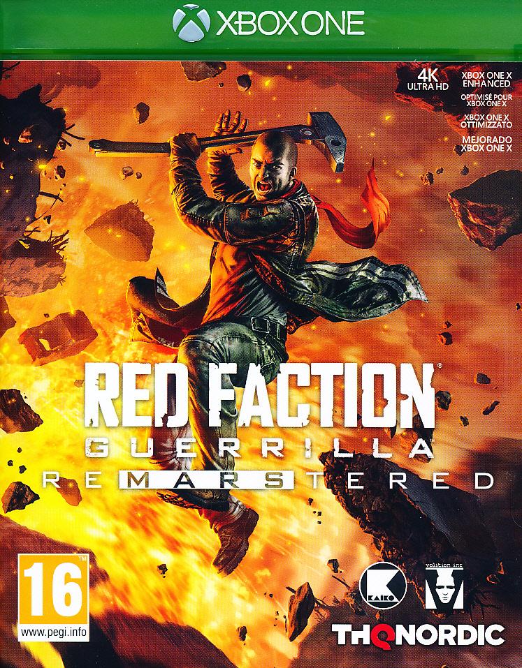 """Packshot for """"Red Faction Guerilla Re-Mars XBO"""""""