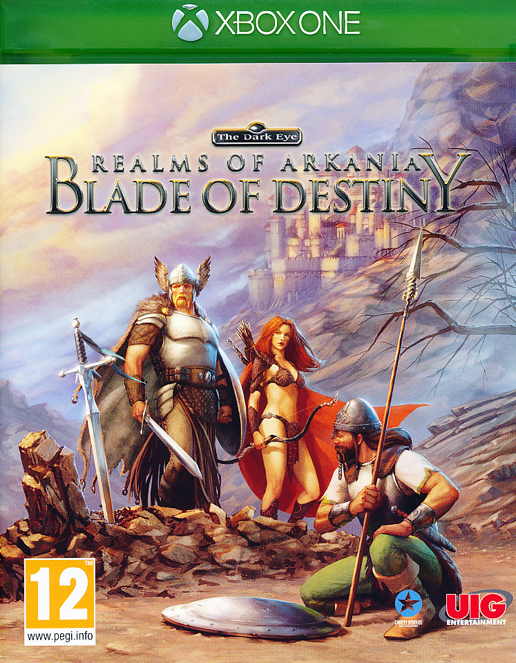 Realms of Arkania Blade of Dest XBO