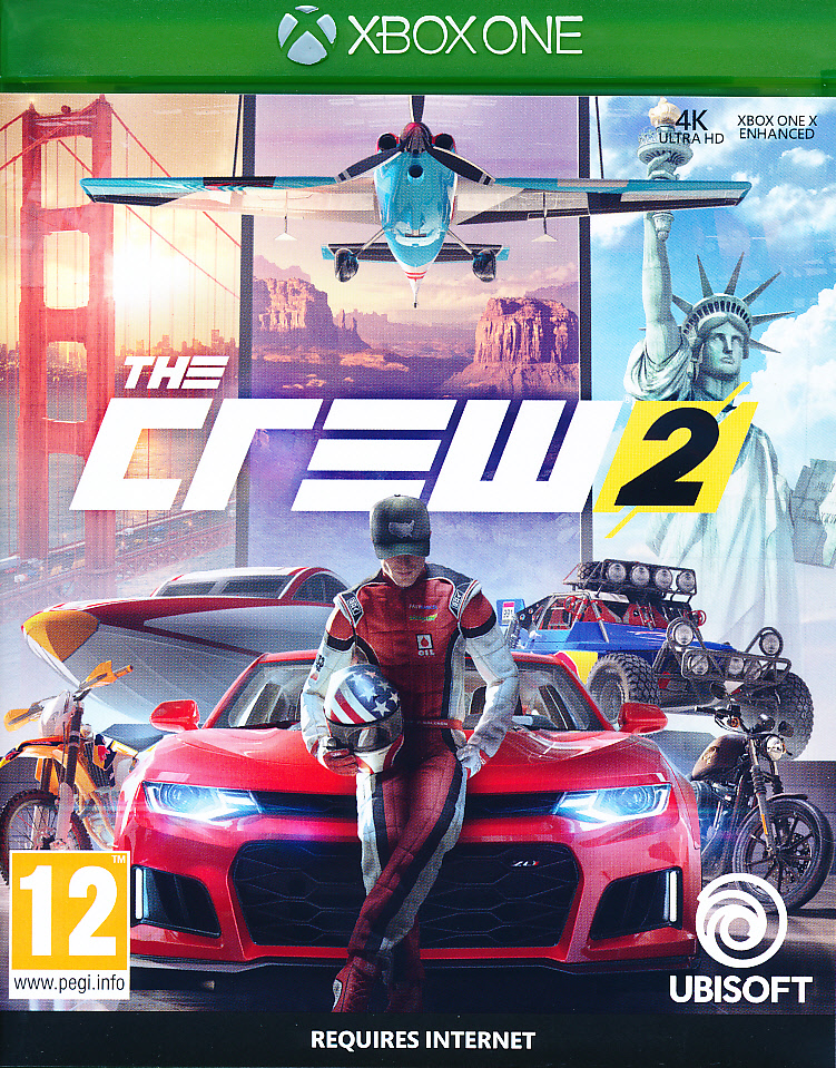 "Packshot for ""The Crew 2 XBO"""