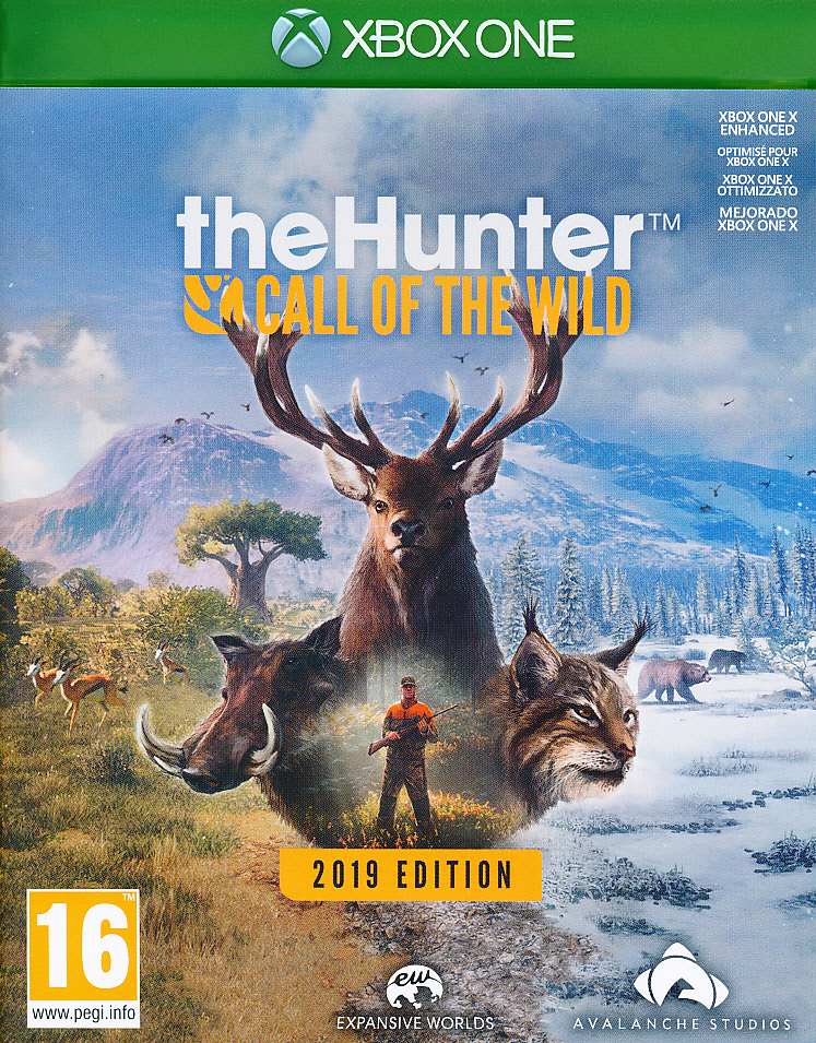 "Packshot for ""The Hunter Call of the Wild GOTYXBO"""