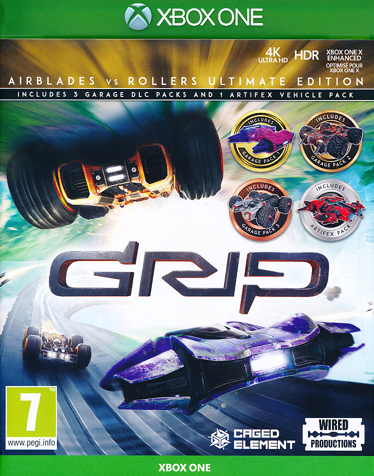 Grip Racing Rollers vs Airblade XBO